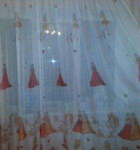 Чудесные шторы в комнату маленькой принцессы