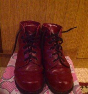 Ортопедические ботинки. Новые.