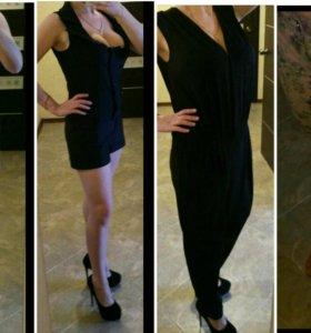 Комбинезон, платье джинсовое, брюки джинсовые