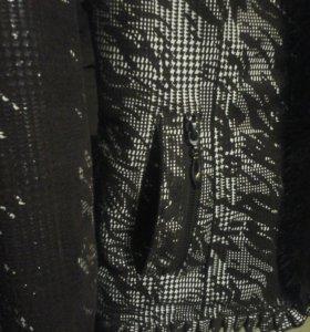 Куртка,отделка натуральный мех(норка),демисезонная