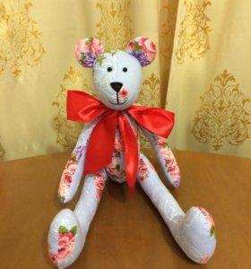 Мишка-тильда замечательный подарок для любимых