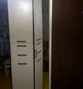 Шкаф угловой + пенал