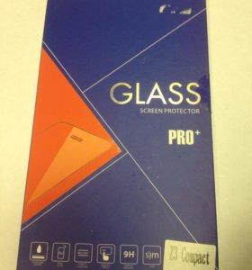 Sony Z3 compact защитное стекло