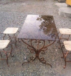 Ковка-столы, стулья,зеркала, монгалы и мног-другое