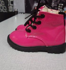 Зимние детские ботинки НОВЫЕ