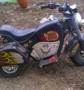 Детский мотоцикл на аккумуляторе