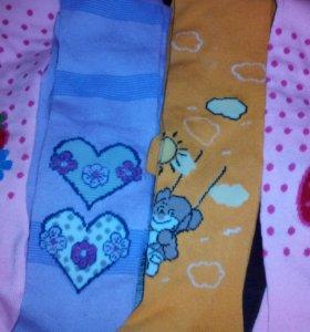 Колготки и носочки новые