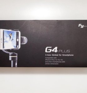 Стабилизатор G4 plus 3-Axis Gimbal for Smartphone