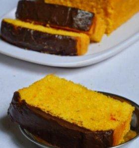Морковные вегетарианские пироги на заказ