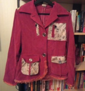 Вельветовый пиджак 46-48