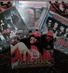 Сд диски с разными исполнителями