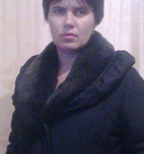 Пальто женское тёплое.