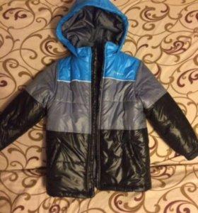 Куртка на мальчика рост 110-116