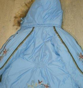 Зимний комплект. Куртка и комбинезон