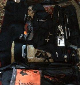 Снаряжение для подводной рыбалки (новое).