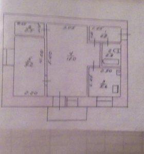 Продается 2х комнатная квартира