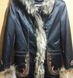Зимняя куртка на натуральном меху