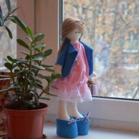 Текстильная кукла handmade