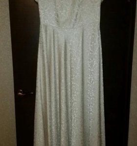 Платье вечернее в пол 48 размер