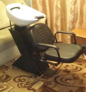 Продам парикмахерскую мойку Dasti, с креслом BRIZ.