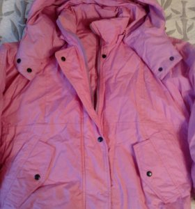 Куртка пуховик 48-50 размер