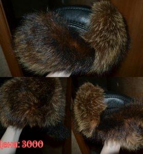 Натуральная шапка мужская