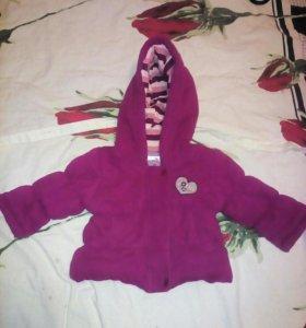 Весенняя куртка для девочки.