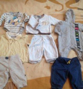 Вещи на мальчика 3 месяца