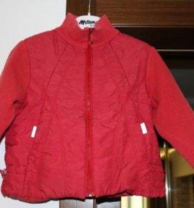 Курточка на весну 86-92 см