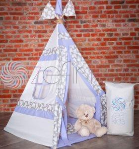 Вигвам домик для игр палатка Детская