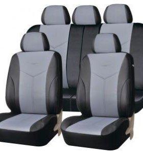 Автомобильные чехлы  PSV Titanium L серый