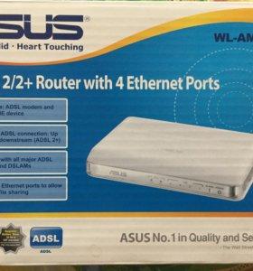 ADSL модем ASUS WL-AM604