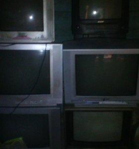 Телевизоры 6 штук 3000 руб все
