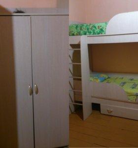 Кровать двухяростная