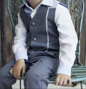 Рубашки,брюки,жилеты для мальчиков