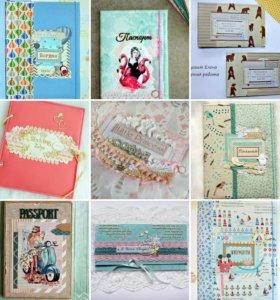 Фотоальбомы, папки для документов, открытки иэдр