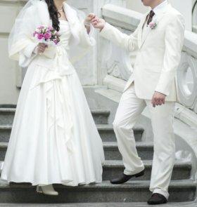 Свадебный/выпускной костюм