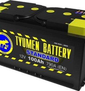 Аккумулятор Тюмень 100 а/ч