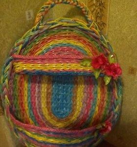 Плетеные изделия на заказ