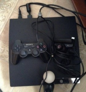 PS3 с играми пс3 приставка