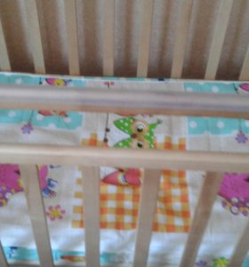 Продам детскую кроватку Алита 3 с поперечным маят.