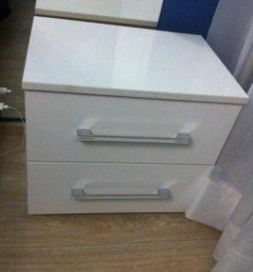 Лаковая белая мебель. Стильно и качественно.