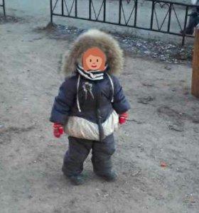 Зимний костюм для девочки очень хорошего качества