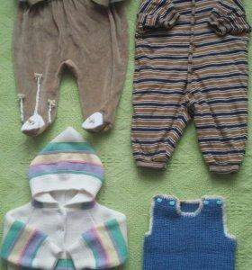 Одежда для девочки (пакет). На 3-6 мес.
