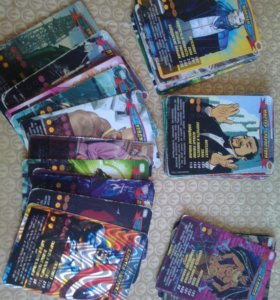 Карточки Герои и злодеи
