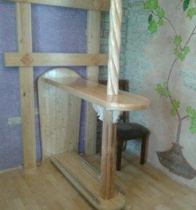 Мебель из массива дерева.
