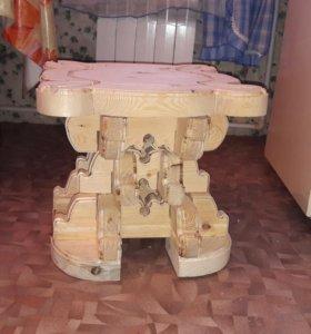 Стол, табуретки