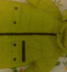 Куртка утеплённая, на 6 лет
