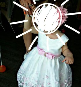 Платье пышное, детское