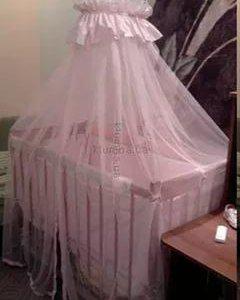 Балдахин в комплекте на детскую кровать